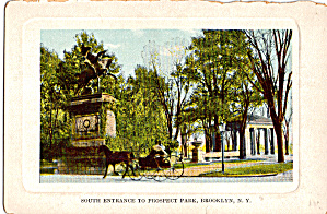 South Entrance To Prospect Park Brooklyn New York P26884