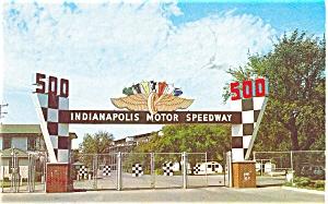 Indianapolis Motor Speedway Postcard p2691 (Image1)