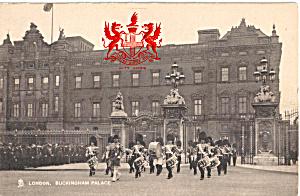 Buckingham Palace London Raphael Tuck Postcard p26921 (Image1)