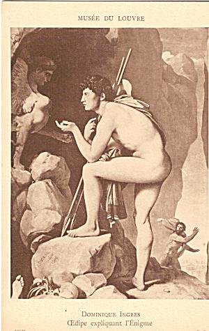 Edipe expliquant Enigme Jean Auguste Dominique Ingres p26925 (Image1)