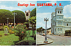Plaza and San Antonio Church, Guayama, Puerto Rico (Image1)