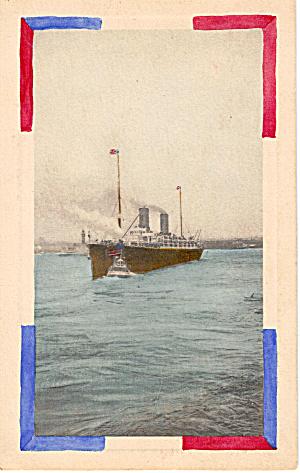 Passenger Liner with Tug p26950 (Image1)