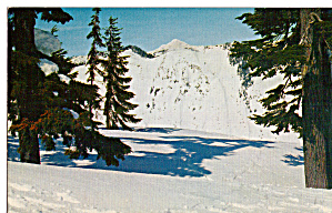 Stevens Pass in Winter and Glacier Peak (Image1)