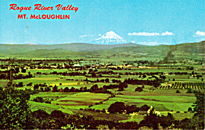 Rogue River Valley And Mt Mcloughlin Or P26993