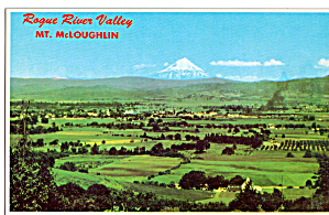 Rogue River Valley And Mt Mcloughlin Or P26994