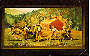 Snap The Whip By Winslow Homer Postcard P27009
