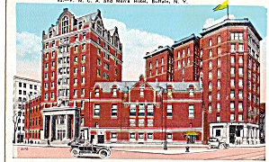 YMCA and Men's Hotel, Buffalo New York (Image1)