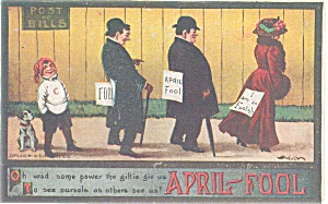 April Fools  Postcard (Image1)
