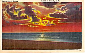 Sunrise Over the Ocean Surfside Beach South Carolina p27032 (Image1)