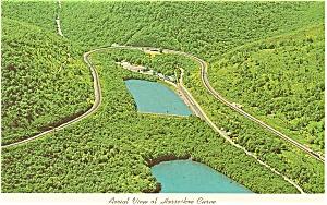 Horshoe Curve Altoona PA  Postcard p2703 (Image1)