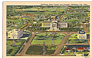 Oklahoma State Capitol And Grounds