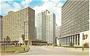 Pittsburgh Hilton  PA  Postcard p2706 (Image1)