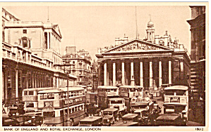 London, Bank of England and Royal Exchange (Image1)