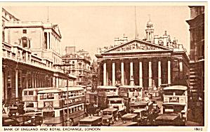 London  Bank of England and Royal Exchange p27091 (Image1)