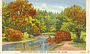 Greetings from Great Barrington Massachusetts p27104 (Image1)