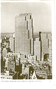 RCA Building New York Real Photo Postcard p2711 (Image1)