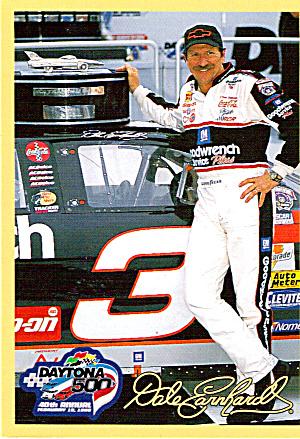 Dale Earnhardt Kenner Card,1998 p27136 (Image1)