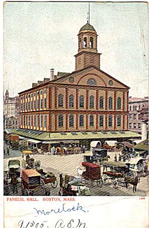 Faneuil Hall Boston Massachusetts p27139 (Image1)