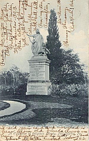 Statue of Religious Liberty Philadelphia PA p27141 (Image1)