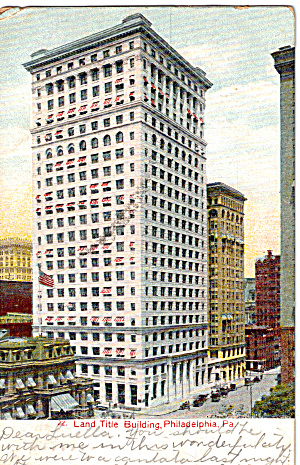 Land Title Building Philadelphia Pennsylvania p27148 (Image1)