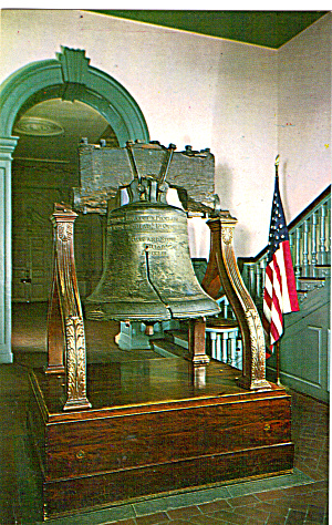 Liberty Bell Independence Hall Philadelphia Pa P27156