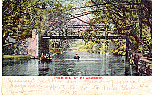 On The Wissahickon, Philadelphia,Pennsylvania (Image1)