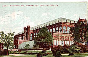 Fairmount Park Horticultural Hall Philadelphia PA p27174 (Image1)