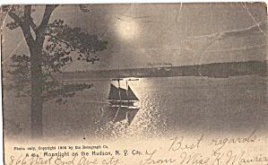 Moonlight on the Hudson New York City p27184 (Image1)