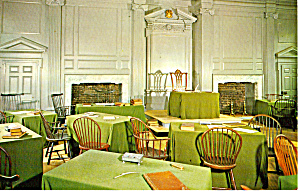 Assembly Room Independence Hall Philadelphia Pa P27194