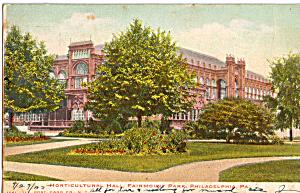 Fairmount Park Horticultural Hall Philadelphia PA p27195 (Image1)