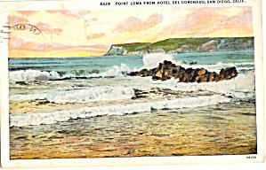 Point Loma CA From Hotel Del Coronado p27198 (Image1)