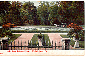 Fairmount Park Lilly Pond Philadelphia PA p27199 (Image1)