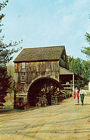 Oliver Wight Grist Mill, Old Sturbridge Village (Image1)