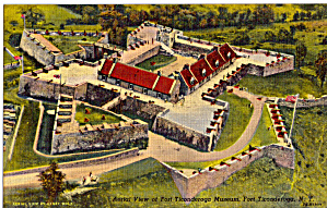 Aerial View Fort Ticonderoga New York p27234 (Image1)