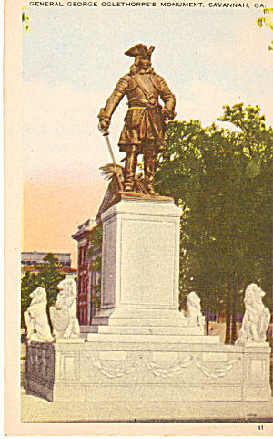 General George Oglethorpe s Monument  Savannah GA p27239 (Image1)
