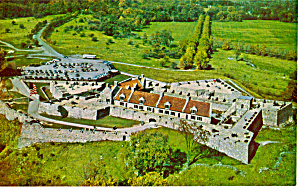 Aerial View Fort Ticonderoga New York P27279