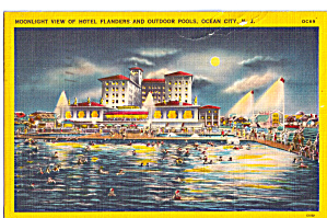 Hotel Flanders and Outdoor Pools By Moonlight (Image1)