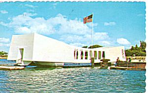 USS Arizona Memorial Postcard p27285 (Image1)