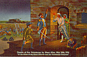 Capture of Fort Ticonderoga by Ethan Allen p27298 (Image1)