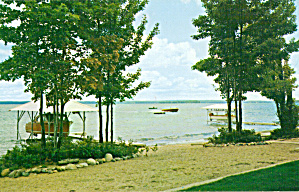 View on Higgins Lake, Michigan (Image1)
