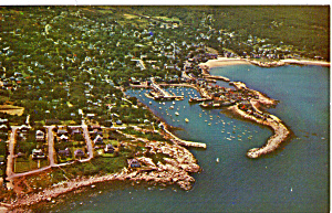 Air Photo Rockport Harbor,rockport Massachusetts P27330
