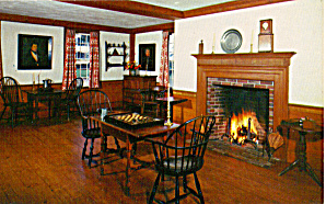 Game Room,  Tavern, Old Sturbridge Village (Image1)