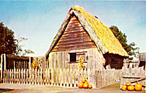 The First House Plimoth Plantation Plymouth MA p27382 (Image1)