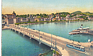 Lucerne,Switzerland, Seebrucke, Trolley (Image1)