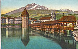 Lucerne Switzerland Kapelbrucke p27392 (Image1)