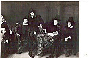 Four Governors of the Lepper Hospital Ferdinand Bol p27395 (Image1)
