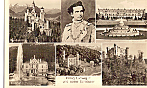 King Ludwig Ii And His Castle P27404