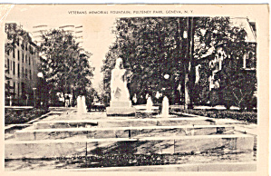 Verterans Memorial Fountain Geneva New York p27429 (Image1)