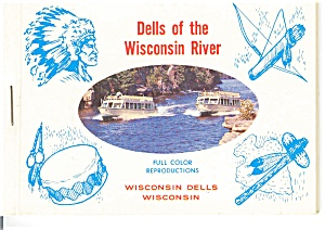 Dells Of The Wisconsin River Souvenir Folder