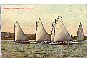 Racing on the Manasquan River  Manasquan  New Jersey p27512 (Image1)